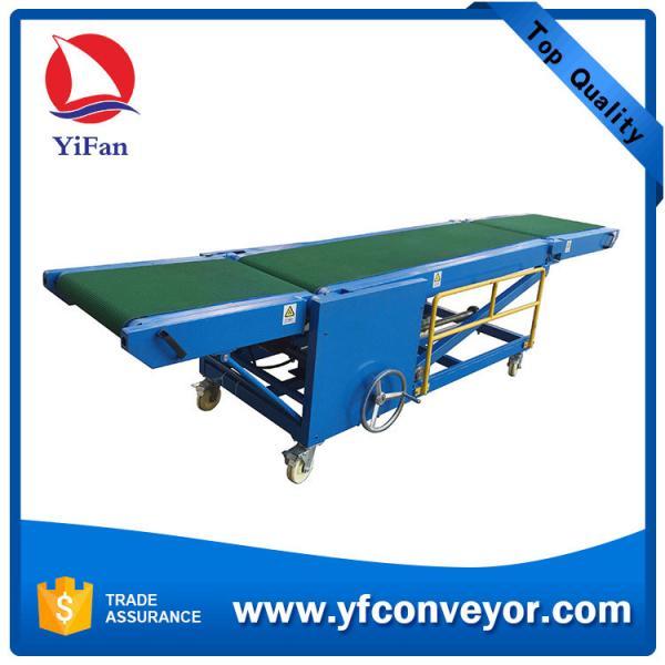 Quality Foldable Belt Conveyor System Portable Conveyor System Container Loading Conveyor for sale