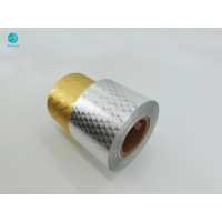 Buy cheap Hot Stamping Embossing 8011 Aluminum Foil Paper For Cigarette Packaging from wholesalers