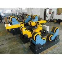 Buy cheap 3kw Motor Power, 40 T Steel / Rubber Pipe Welding Rotator with Remote Hand Control Box from wholesalers