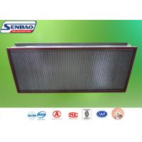 Buy cheap AHU System High Temp Hepa Filter Efficiency H13 H14 0.3um Particulate from wholesalers