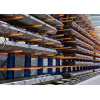 Buy cheap Powder Coated Steel Structural Cantilever Rack Cold Rolled Steel Q235B from wholesalers