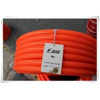 Buy cheap Orange PU Polyurethane Round Belt anti static with 3mm - 8mm Textile from wholesalers