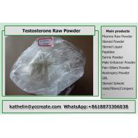 Buy cheap White Color Testosterone Based Steroids Raw Powder , Muscle Growth Steroid from wholesalers