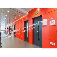 Buy cheap Surface Painted Standard Size Industrial Fire Rated Doors 3 Hours Fire Resistant from wholesalers