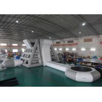 Buy cheap Amercian Customized Water Park Combo Inflatable , Inflatable Big Slide Park from wholesalers