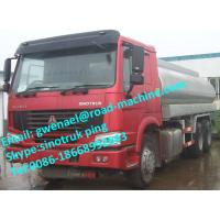 Buy cheap 180HP 6 x 4 Driving 25 M3 Tank Oil Tanker Trailer of Sinotruck Howo from wholesalers