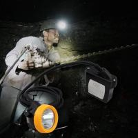 Rechargeable cree underground Mining Hard Hat LED Lights ATEX approved Manufactures