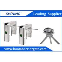 Wholesale RS485 Tripod Turnstile Gate , RFID Reader Access Pedestrian Barrier Gate from china suppliers