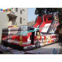 Buy cheap Outdoor Large 0.55mm PVC tarpaulin Inflatable Commercial Inflatable Slide for product