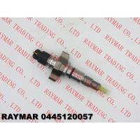 BOSCH Genuine common rail injector 0445120057 for IVECO 504091505, CASE NEW HOLLAND 2854608