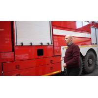 Buy cheap Truck Security Aluminum Anodized Roller Shutter Door Roll-up Door for Fire Vehicle from wholesalers
