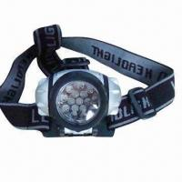 Buy cheap LED Camping Head Lamp with 3 x AAA Battery and 1.5V Voltage product
