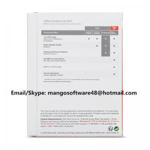 Buy cheap English Professional Office 2016 Retail Box PKC FPP Origianl Key from wholesalers