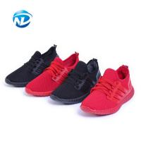 Buy cheap Light Weight Sports Shoes Lace-up Mesh Fabric Shoes For Ladies from wholesalers