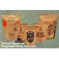 Buy cheap STAND UP POUCHES SPOUT POUCHES SIDE GUSSET BAGS PAPER BAGS 3 SIDE SEAL POUCH BLOCK BOTTOM BAGS JERKY BAGS BIODEGRADABLE from wholesalers