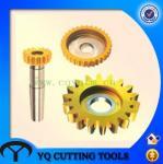Buy cheap HSS disc shape straight teeth gear shaper cutter from wholesalers
