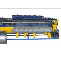 Buy cheap PLC Control Industrial Chain Link Fence Machine 80-120 M2/ Hour Easy To Operate from wholesalers