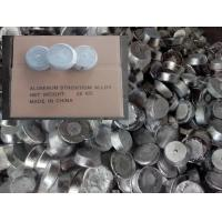 Buy cheap Strontium-aluminum alloy AlSr 10% 15%, structural modifier for hypoeutectic aluminum-silicon alloys from wholesalers
