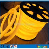 Buy cheap 25M spool 12V yellow round 360 degree led neon flex for room from wholesalers