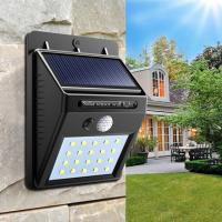Buy cheap 100lm Wall Mounted Solar Lamp , Solar Garden Security Lights 2700-6500K CCT from wholesalers