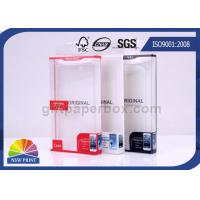 Buy cheap Custom Printed Electronics Packaging Box PET PP PVC PS Transparent Plastic Boxes from wholesalers