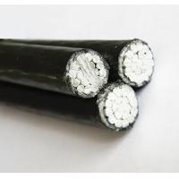 Buy cheap Black Low Voltage Aluminum Triplex Aerial Cable High Temperature Resistance from wholesalers