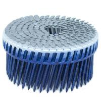 Buy cheap Hot Dipped Ring Shank Siding Nails , Diamond Point Plastic Collated Coil Nails from wholesalers