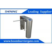 Wholesale NO / NC 304 Stainless Steel Tripod Turnstile Gate For Indoor Office Building from china suppliers