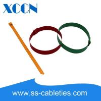 Buy cheap Big Wide Self Locking Cable Ties , Metal Tie Wraps Epoxy Coating Quickly Buckle from wholesalers