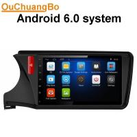 Wholesale Ouchuangbo car 1080P video stereo for Honda City 2015 with wifi DVR Bluetooth music android 6.0 system from china suppliers