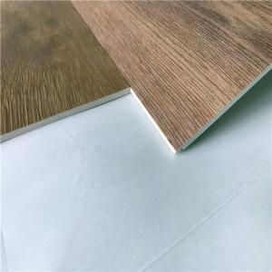 Buy cheap UniPush Click interlocking pvc no glue non-slip wood grain spc vinyl plank flooring from wholesalers