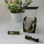 Buy cheap 350g 400g Custom Gift Boxes Hot Stamping Vape Cartridge CBD Oil Bottle Coated Paper from wholesalers