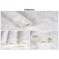 Buy cheap Pasted 0.53*10M Self Adhesive Wallpaper Nonwoven Wallcoverings With Foam Technology from wholesalers