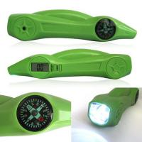 Buy cheap Green ABS Digital Tire Pressure Gauge With Flashlight , Warning Light 5-150PSI from wholesalers