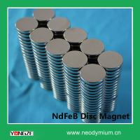 Buy cheap Permanent Neodymium Disc Magnet N42 from wholesalers