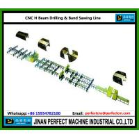 Wholesale CNC H Beam Drilling and Band Sawing Line from china suppliers