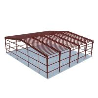 Buy cheap Industrial Construction Warehouse Steel Structure Factory Long Span Life product