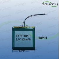 Wholesale 800mAh High Energy Lithium Mobile Phone Polymer Battery Cell 3.7V 2.96WH No Pollution from china suppliers