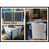 Buy cheap Horizontal Cold Room Condensing Unit / AC Condenser Air Conditioning System from wholesalers