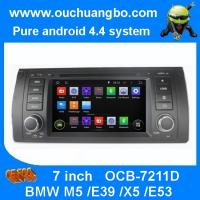 Buy cheap Ouchuangbo DVD Navigation iPod USB 3G Wifi for BMW M5 /E39 /X5 /E53 Android 4.4 Radio Ster from wholesalers