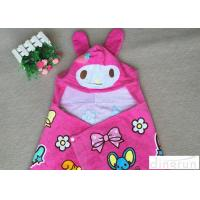 China 350gsm Lovely Convenient Hooded Poncho Towels For Girls 60*120cm on sale