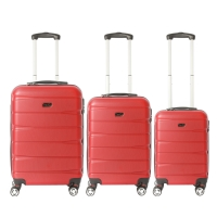 Wholesale Aluminum Trolley Abs Hardshell Luggage set from china suppliers