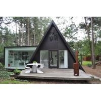 Buy cheap Prefab House Kits , Modern Light Steel Frame Bungalow,Holiday resort triangle house, mobile house,wooden house from wholesalers