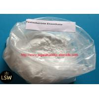 Buy cheap White Cutting Cycle Steroids Powder CAS 315-37-7 Testosterone Enanthate For Fast product