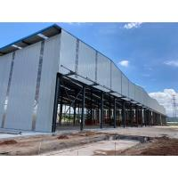 Buy cheap Hot Sales Q355B Steel Garage steel Frame for steel structure buildings from wholesalers