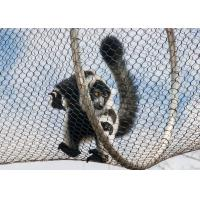 Buy cheap Strong Toughness Stainless Steel Zoo Mesh Easy Installation For Ape / Monkey product