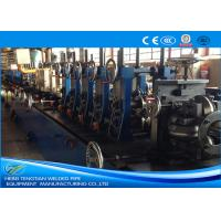 China 201 SS Tube Mill Machine , Stainless Tube Mills PLC Control 1.5mm Thickness on sale