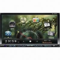 China Universal Model Motorized 7-inch TFT Touch Screen LCD Panel with TV Receivers and GPS Functions on sale