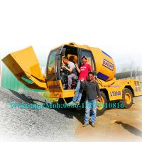 Buy cheap Easy Control Concrete Construction Equipment Concrete Mixer Vehicle With 30% Gradient SW3500 from wholesalers