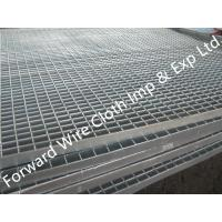 Hot Dipped Galvanized Bar Grating Carbon Steel / Stainless Steel 1000 * 2000 mm Manufactures